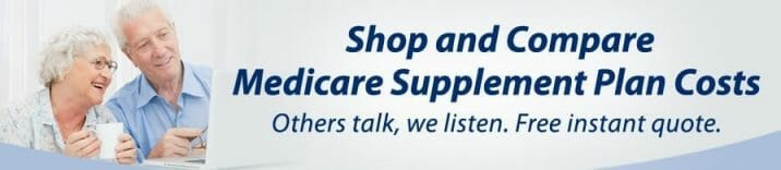 Compare Medicare supplement insurance rates
