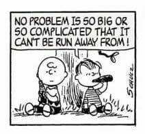 peanuts linus no problem