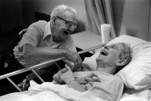 married couple hospital bed